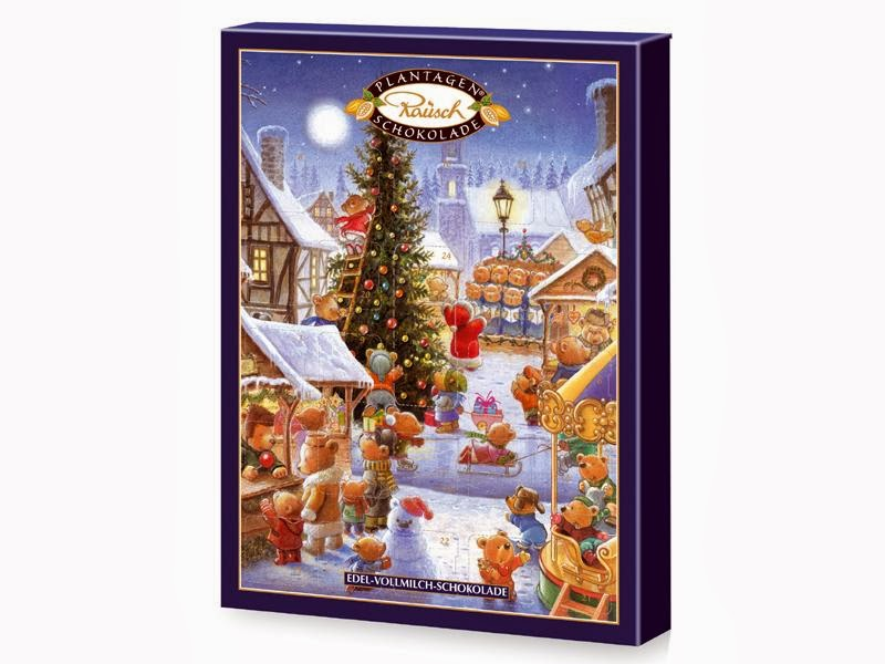 kalendarz adwentowy czekolada - Jezykowy Precel