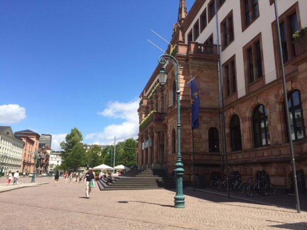 Wiesbaden Neues Rathaus