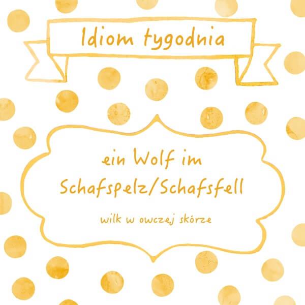 niemiecki idiom