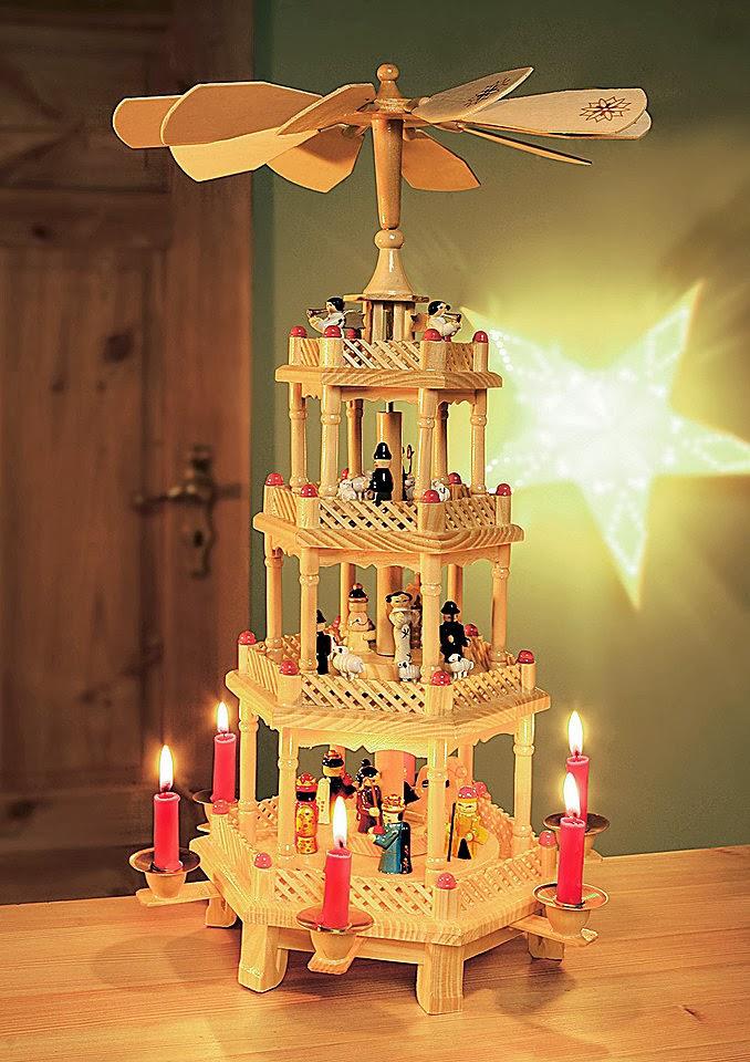 świąteczna piramida  - Jezykowy Precel