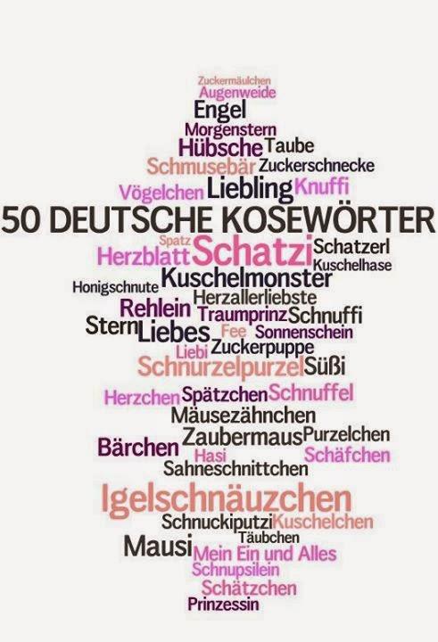 Kosenamen Niemieckie Czułe Słówka Językowy Precel