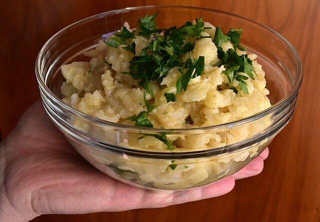 Bayrischer Kartoffelsalat Salatka Ziemniaczana Przepis