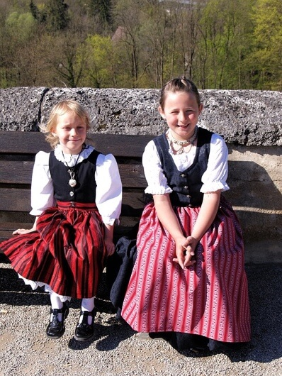 niemiecka kelnerka Oktoberfest