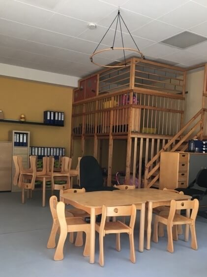 Niemieckie przedszkola - wystrój sali