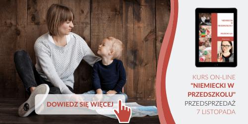 kurs niemieckiego Niemiecki w przedszkolu